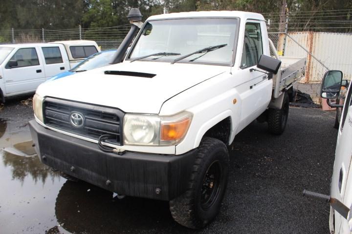2008 Toyota Landcruiser 4WD Manual - 5 Speed UTE