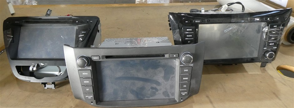 1 Box of 3 x Assorted In Car DVD Screens