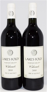 Lakes Folly Cabernets 2010 (2x 750ml)