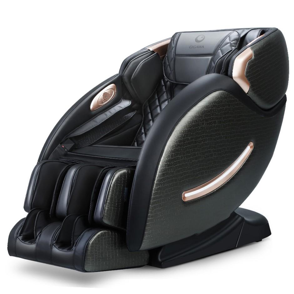 Ogawa Electric Massage Chair Recliner L-Track Shiatsu Roller Full Body