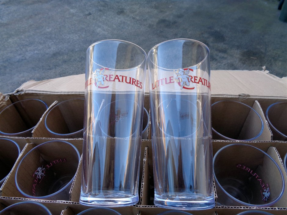 48 x Little Creatures 570ml Glasses
