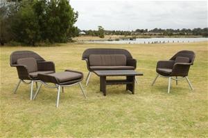 Sorrento 5 Piece Modern Outdoor Furniture Set Auction 0001 3113554 GraysO
