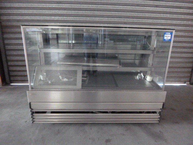 Koldtech NRSQCD-15 Square Glass Ambient Display Cabinet