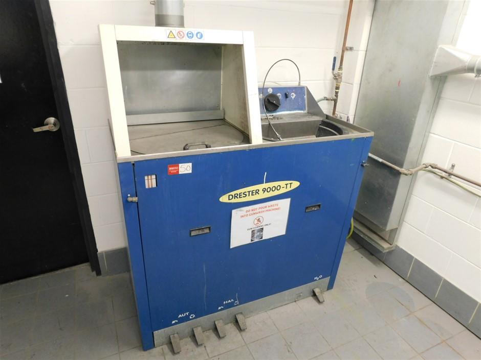 Full Automated Spray Gun Cleaner Pneumatic Drester