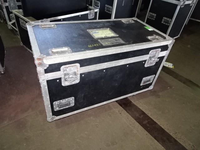 Rolling Hard Case on castors with 2 stage lights