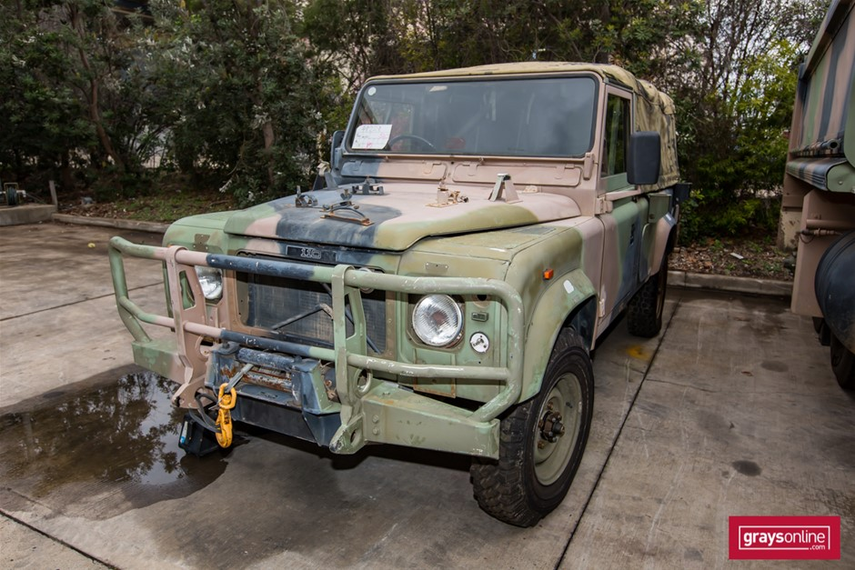 Land Rover 110 4X4 FFR 04/1989 (Incomplete & Non Operational)