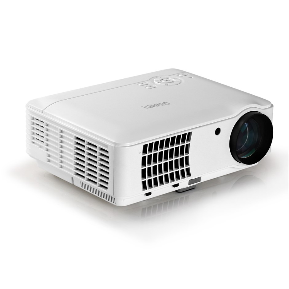 Devanti HD 1080P Video Projector 4000 Lumen LED Home Multimedia