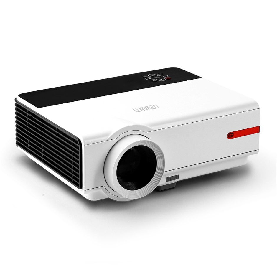 Devanti HD Android Video Projector 5000 Lumen Theatre WiFi Bluetooth