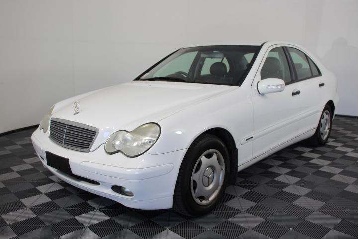 2000 (2001) Mercedes Benz C180 Classic W203 Automatic Sedan