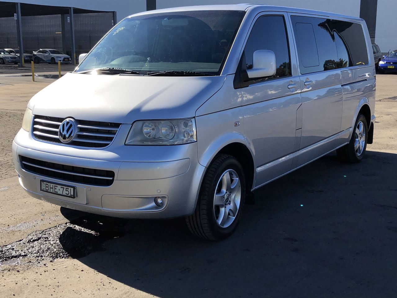 2008 Volkswagen Caravelle LWB T5 Turbo Diesel Automatic 9 Seat People Mover