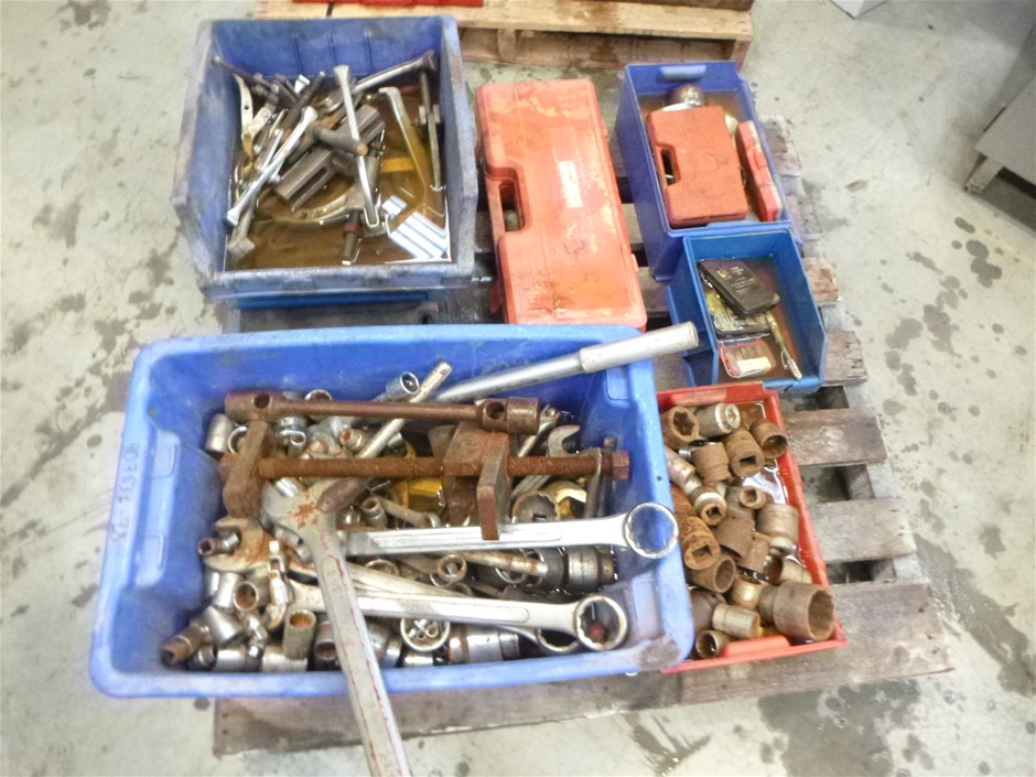 Pallet of Various Tools