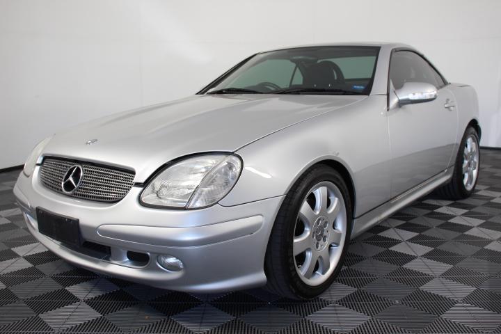 2003 Mercedes Benz SLK320 R170 Automatic Convertible 140,317km