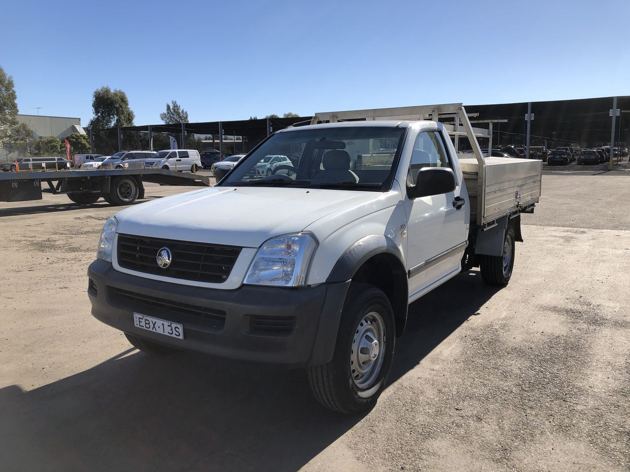 2006 Holden Rodeo LX RA Manual Cab Chassis