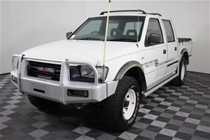 2001 Holden Rodeo LX (4x4) Dual Cab