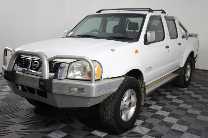 2006 Nissan Navara ST-R (4x4) D22 3.0lt Turbo Diesel Dual Cab