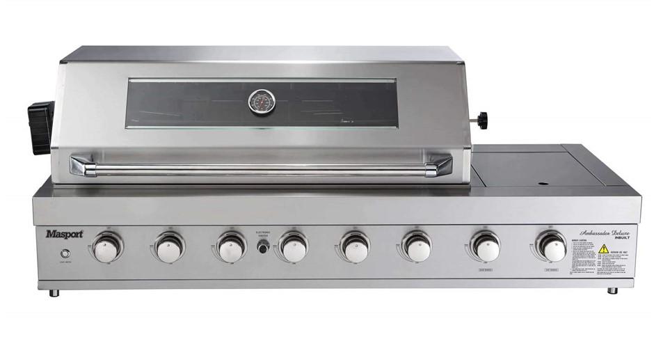 Masport Ambassador Supreme Deluxe Inbuilt BBQ