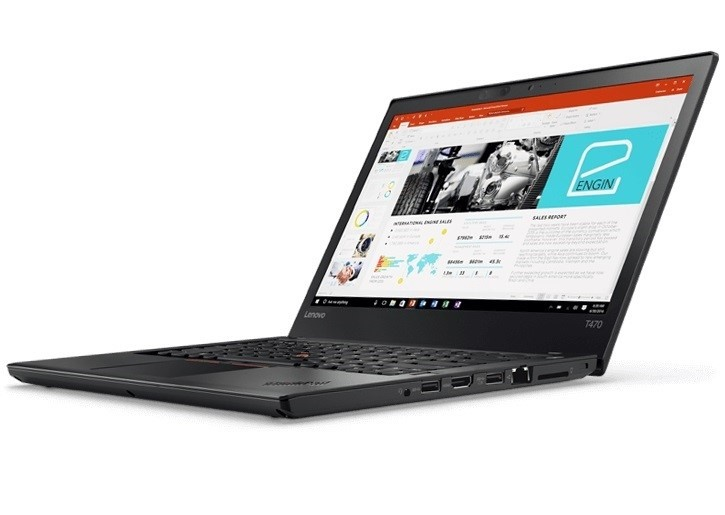 Lenovo ThinkPad T470 14-inch Notebook, Black