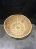 10 x Cane Bread Baskets - 25cm Dia