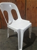 35 x Alfresco Plastic Stacking Chair White