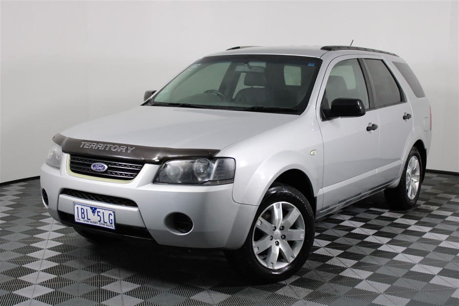 2008 Ford Territory SR (RWD) Dual Fuel Automatic 7 Seats Wagon
