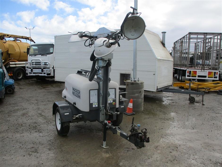 2014 Wacker Neuson LTN6 Mobile Light Tower