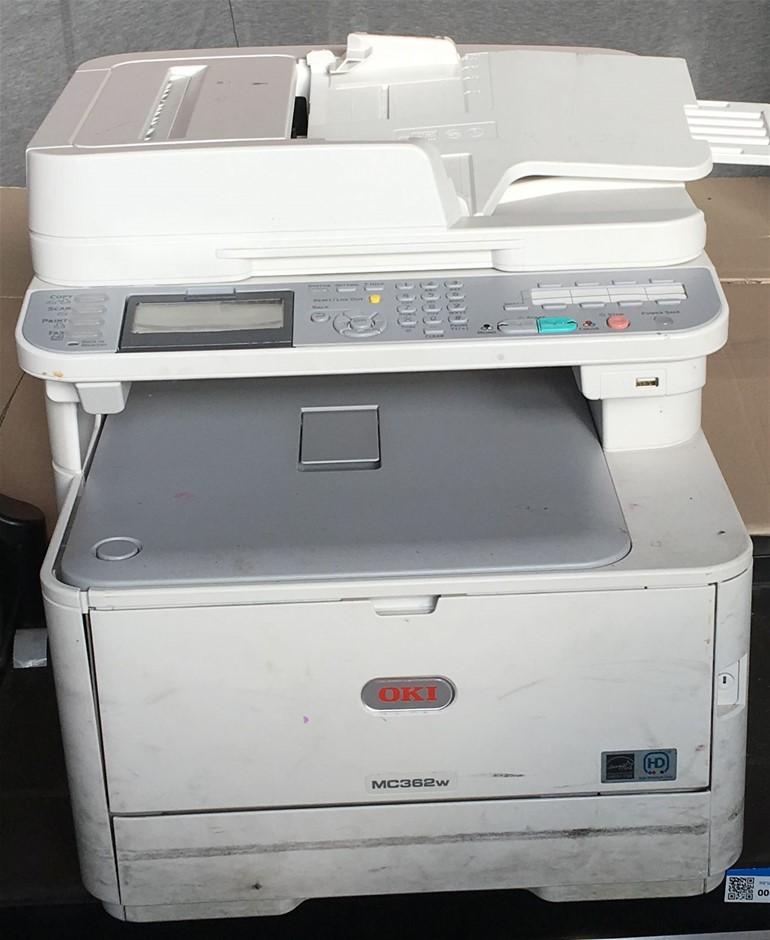 OKI MC362W Colour Mulifunction Printer