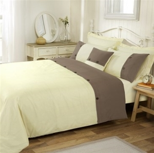 Amal Queen Bed Quilt Cover Set by Anfora