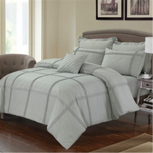 Avoca Double Bed Quilt Cover Set by Anfo