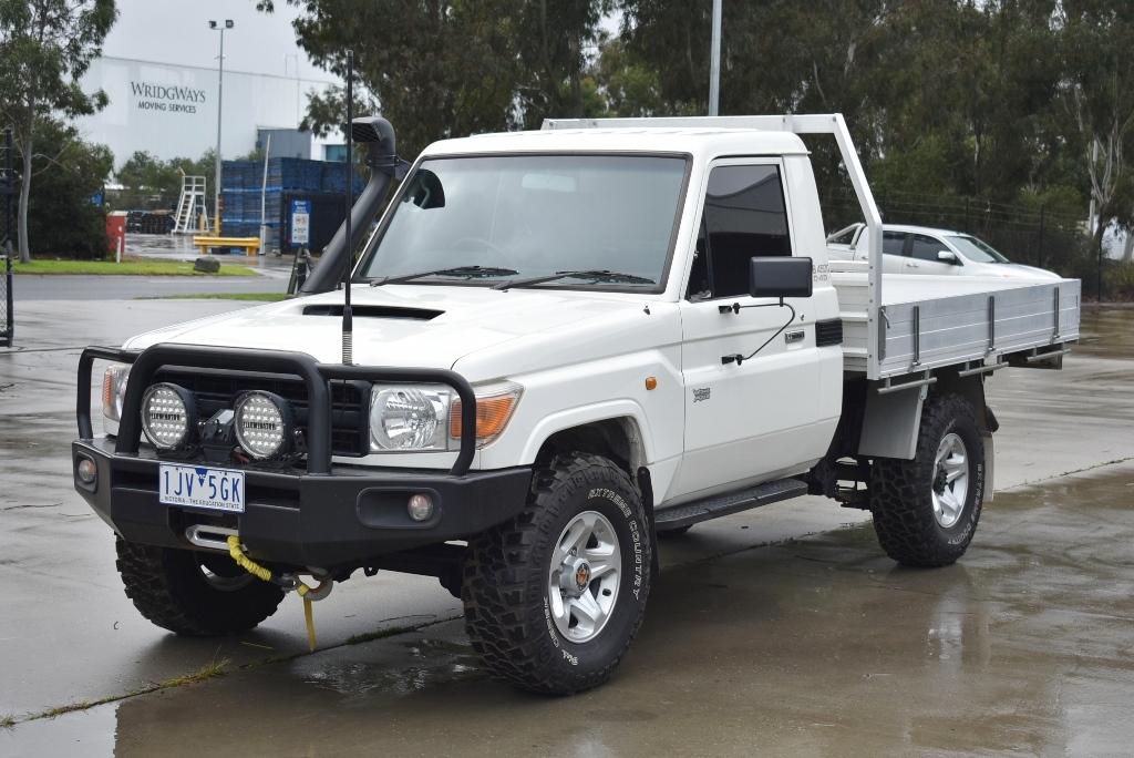 2007 Toyota Landcruiser Workmate (4x4) VDJ79R Turbo Diesel (WOVR-INSPECTED)