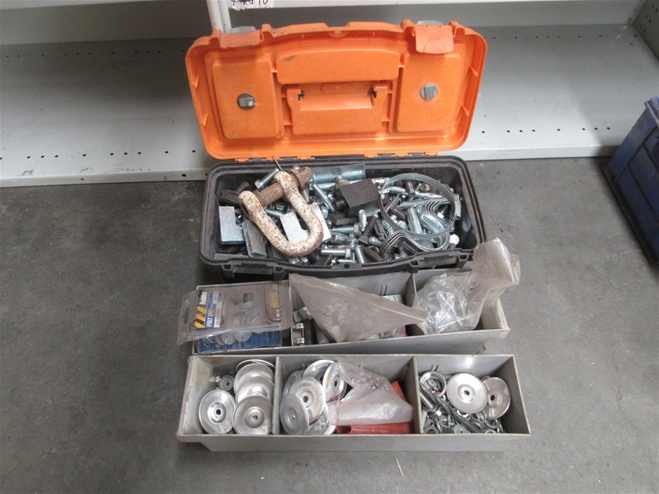 Assorted Nuts, Bolts, Washers and Brackets