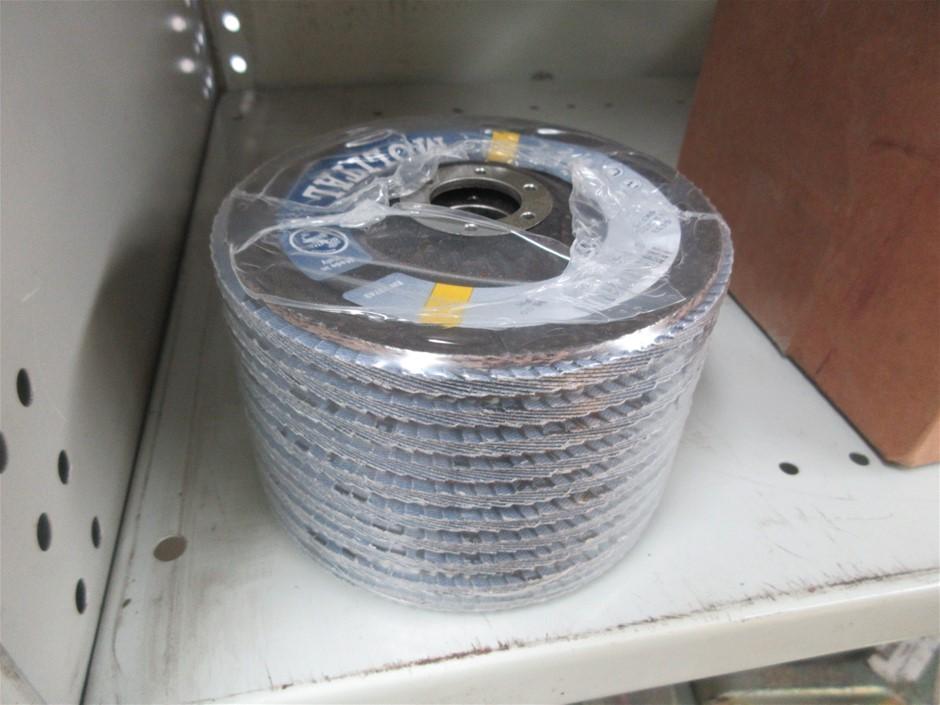10x Molital 125mm Flap Discs