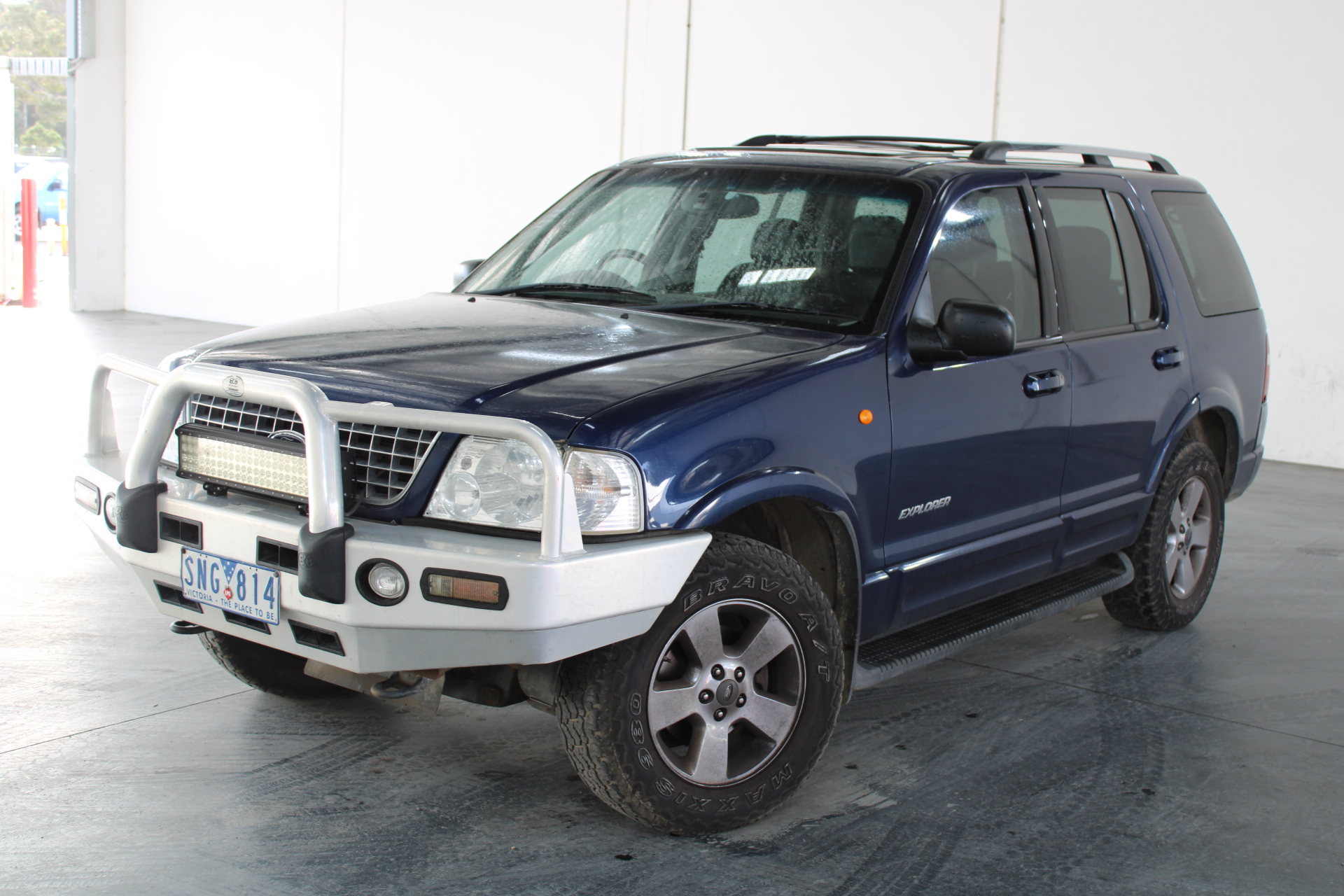 2003 Ford Explorer Limited (4x4) UZ Automatic 7 Seats Wagon