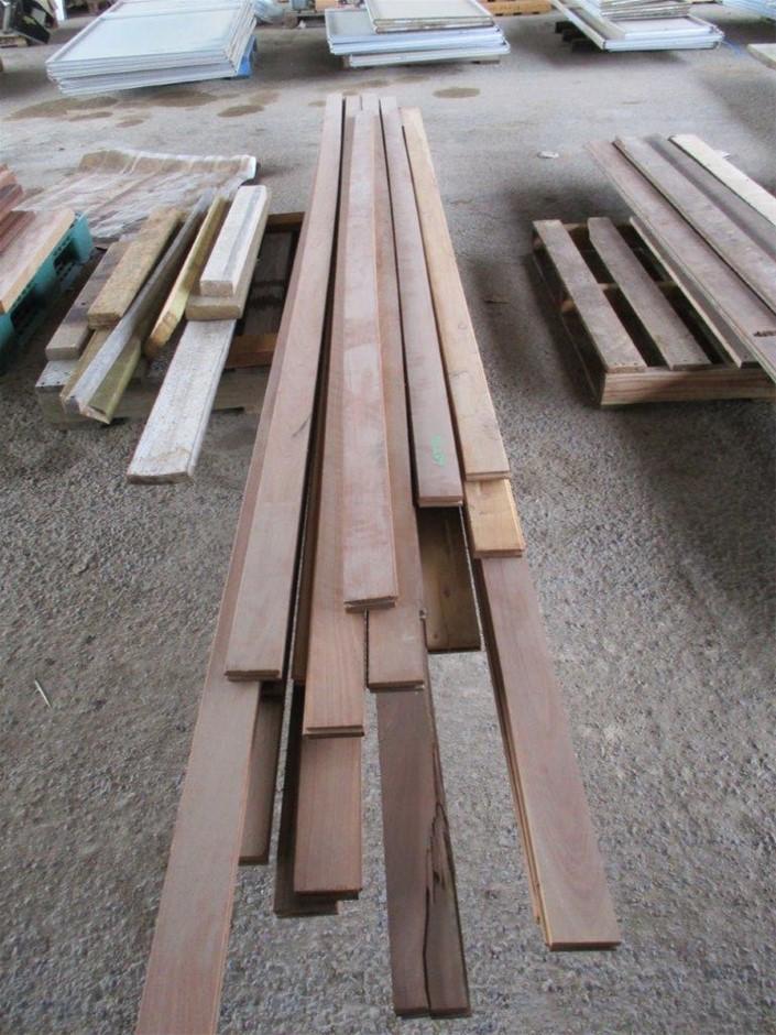 Timber Flooring Hardwood on Pallet