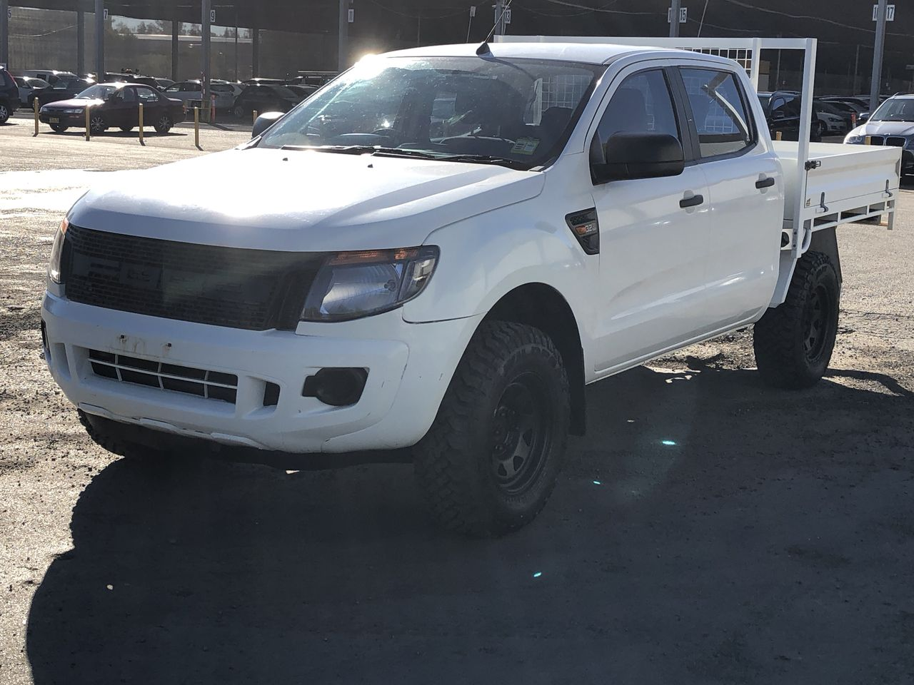 2013 Ford Ranger XL 4X4 PX Turbo Diesel Manual Dual Cab Chassis