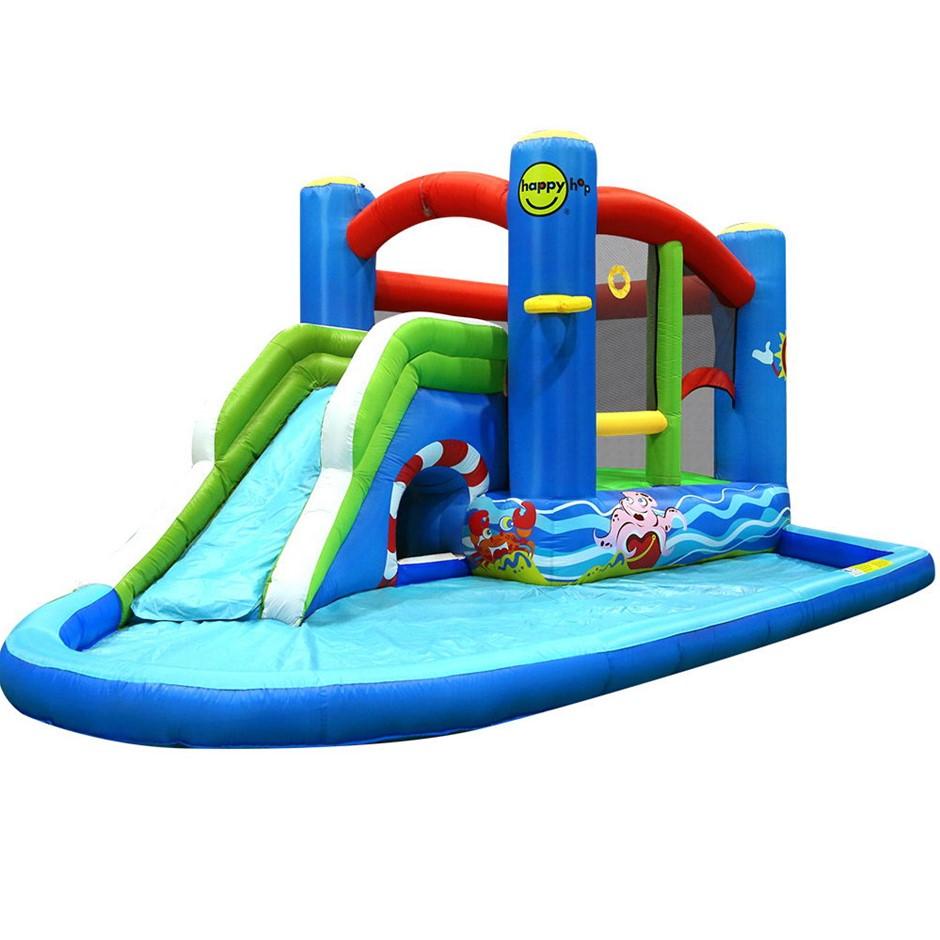 Happy Hop Inflatable Water Jumping Castle Bouncer Windsor Slide Splash