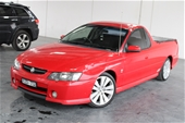 Unreserved 2002 Holden Commodore SS Y Series Automatic Ute