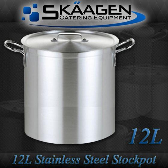 Unused Stock Pot 12L