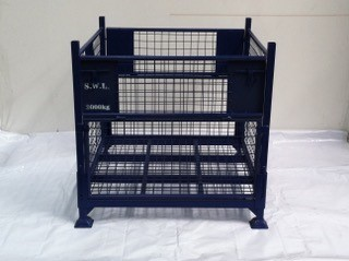 Brand New Steel Stillage - Stackable and Collapsible
