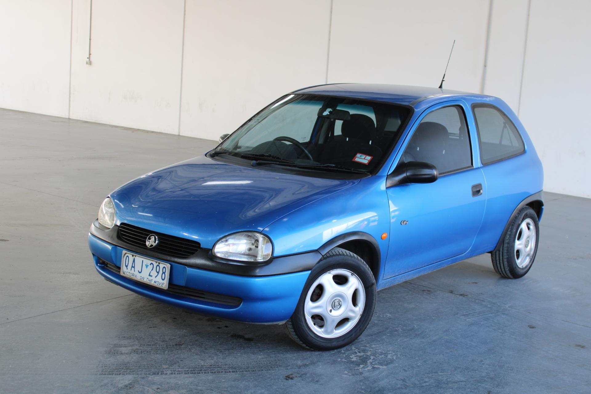 2000 Holden Barina City SB Manual Hatchback