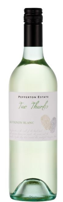Pepperton Estate Two Thumbs Sauvignon Blanc 2018 (12 x 750mL) SA