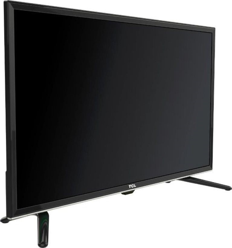TCL 48inch Television c/w Remote, Stand & Power Cord, Model L4D2700F. N.B.