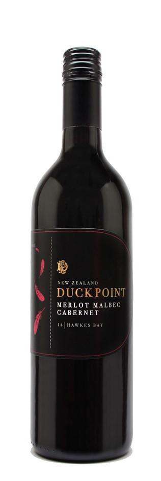 Duck Point Merlot Malbec Cabernet 2015 (12 x 750mL) Hawkes Bay, NZ