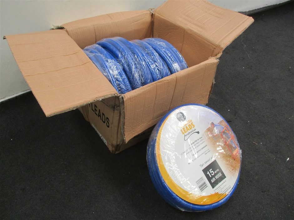Qty 5 x Extension Leads Aust PVC Air Hoses