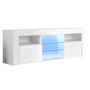 Artiss 145cm RGB LED TV Stand Cabinet Gl