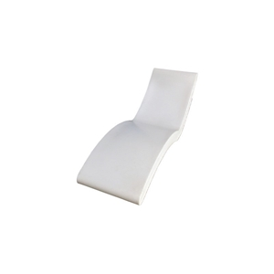 1 x Genus Wave Lounger (White Colour)