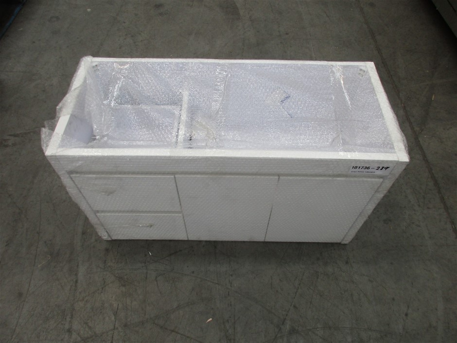 White Timber Cabinet