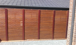 2 x 1800 X 900 Merbau type- hardwood scr