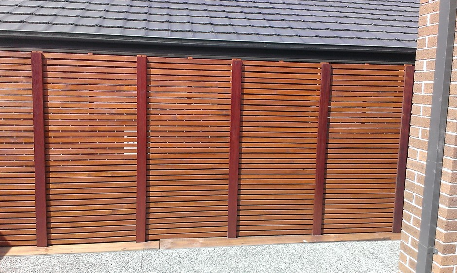 1 x 1800 X 900 Merbau type- hardwood screens (Pooraka, SA)