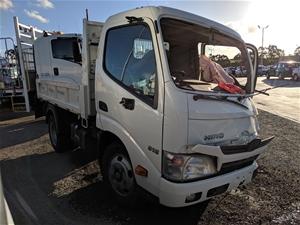 2016 Hino 300 Series Tipper Truck