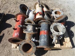 Pallet of 150mm Couplings Bends & Joiner